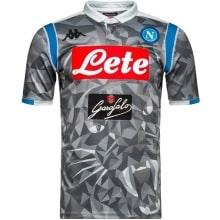 Третья игровая футболка Наполи 2018-2019