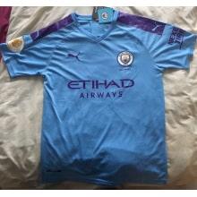 Домашняя футболка Манчестер Сити 19-20 Де Брёйне