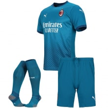 Детская третья футбольная форма Милана 2020-2021