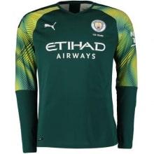Вратарская домашняя футболка Манчестер Сити 2019-2020