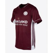 Комплект детской третьей формы Лестер Сити 2020-2021 футболка сбоку