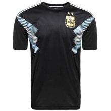 Гостевая игровая футболка сборной Аргентины на ЧМ 2018