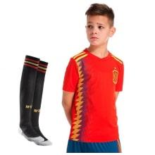 Комплект детской футбольной формы Испании на ЧМ 2018
