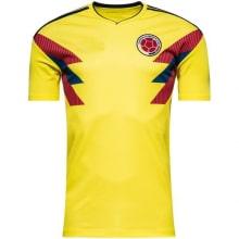 Домашняя футболка сборной Колумбии на чемпионат мира 2018