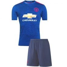 Гостевая футбольная форма Манчестер Юнайтед 2016-2017