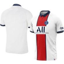 Гостевая игровая футболка ПСЖ 2020-2021