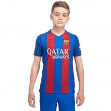 Детская домашняя футбольная форма Барселоны 2016-2017