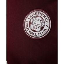 Комплект детской третьей формы Лестер Сити 2020-2021 футболка герб клуба