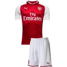 Домашняя футбольная форма Арсенал 2017-2018 футболка и шорты