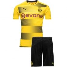 Домашняя футбольная форма Боруссии Дортмунд 2017-2018 футболка и шорты