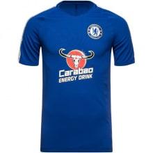 Синяя тренировочная футболка Челси 2018-2019