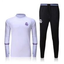 Черно белый тренировочный костюм Реал Мадрид 2017