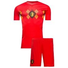 Комплект футбольной формы сборной Бельгии на ЧМ 2018