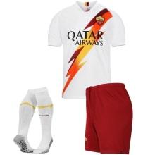 Детская гостевая футбольная форма Ромы 2019-2020