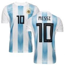 Футболка сборной Аргентины на ЧМ 2018 Лионель Месси