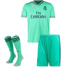 Детская третья футбольная форма Реал Мадрид 2019-2020