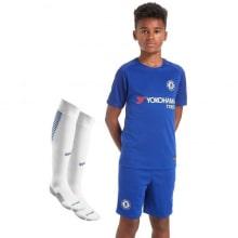 Детская домашняя футбольная форма Челси 2017-2018