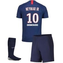 Детская домашняя футбольная форма Неймар 2019-2020