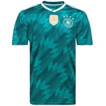 Гостевая футболка сборной Германии на ЧМ 2018