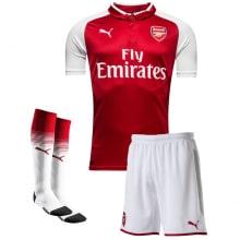 Комплект домашней футбольной формы Арсенала 2017-2018
