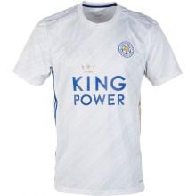Детская гостевая футбольная форма Лестер Сити 2020-2021 футболка