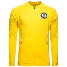 Взрослый желто-синий тренировочный костюм Челси 2018-2019 кофта