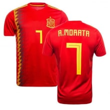 Футболка сборной Испании на ЧМ 2018 Альваро Мората