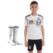 Комплект детской футбольной формы Германии на ЧМ 2018