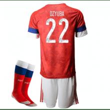 Детская домашняя форма России Артем Дзюба на ЕВРО 2020-21