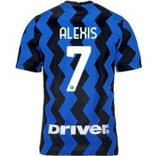 Домашняя игровая футболка Интера Алексис Санчес 2020-2021