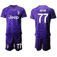 Детская фиолетовая форма Ювентуса Буффон 2019-2020
