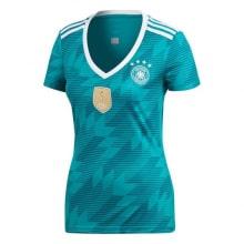 Женская гостевая футболка сборной Германии на ЧМ 2018