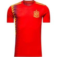 Домашняя игровая футболка сборной Испании на ЧМ 2018