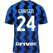 Домашняя игровая футболка Интера Эриксен 2020-2021