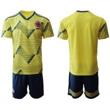 Домашняя футбольная форма Колумбии 2019-2020