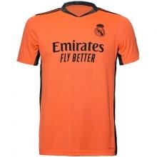 Вратарская гостевая футболка Реал Мадрид 2020-2021