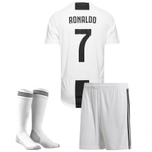 Детская домашняя футбольная форма Роналдо 2018-2019