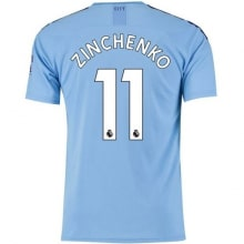 Домашняя футболка Манчестер Сити 19-20 Александр Зинченко