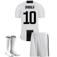 Детская домашняя футбольная форма Дибала 2018-2019