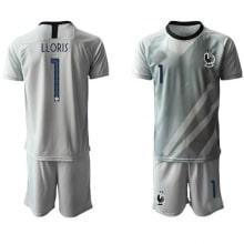 Детская серая форма Франции LLORIS на ЕВРО 2020-2021