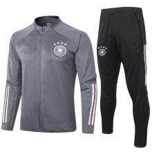 Серо черный костюм сборной Германии по футболу 2020-2021