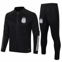 Черный тренировочный костюм Аргентины по футболу 2020-2021