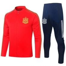 Красно синий костюм сборной Испании по футболу 2020-2021