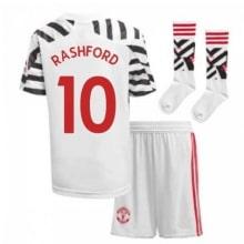 Детская третья форма Ман Юнайтед Маркус Рашфорд 2020-2021