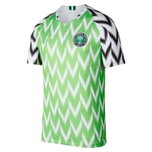 Домашняя футболка сборной Нигерии на чемпионат мира 2018
