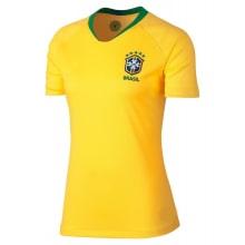 Женская домашняя футболка Бразилии на ЧМ 2018