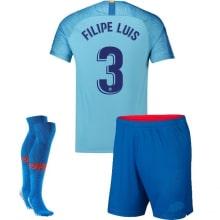 Детская гостевая футбольная форма Филипе Луис 2018-2019