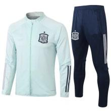 Сине бежевый костюм сборной Испании по футболу 2020-2021