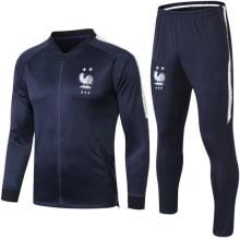Детский черный костюм Франции по футболу 2019-2020