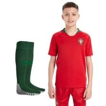 Детский комплект домашней формы Португалии на ЧМ 2018